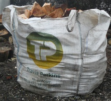 Tonne bag of logs Fresh Cut £45 Seasoned £60